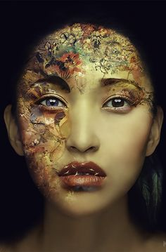 Kay face, Detail of photo by Miss Aniela
