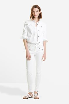 | The White Denim Jacket