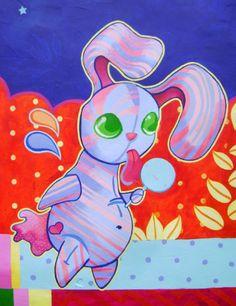 Ice Cream Daydream mural by Amanda Checco, Cincinnati