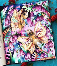 Coloring Book Art, Adult Coloring, Markova, Colored Pencils, Color Inspiration, Enchanted, Fairy, 1, Princess Zelda