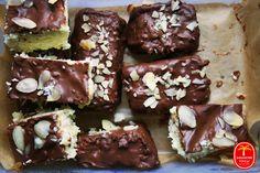 Bananowe Pole - Roślinożerni biegacze: Jaglane batoniki Bounty (bez pieczenia)