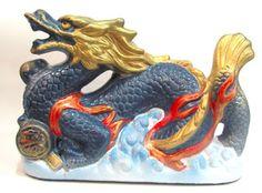 Ateliê Le Mimo: ORIENTAIS  Dragão chinês - peça em gesso