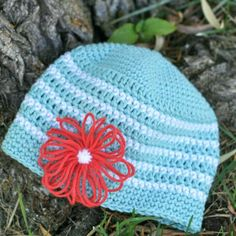 Baby Bloom Hat - I *LOVE* it!!! <d   (no pattern)