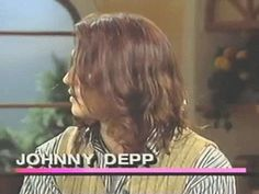 .gif of Johnny Depp's hair...just because it's beautiful.