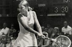 Chris Evert.  #tennis