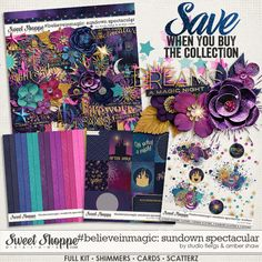 #believeinmagic: Sundown Spectacular Collection by Amber Shaw & Studio Flergs