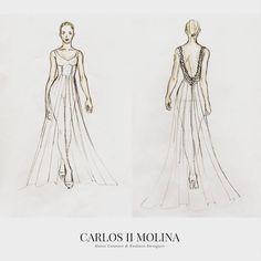 ✏✏✏ #bride #wedding #weddingdress #weddingstyle #instabride #fashiondesign  #glamour #hautecouture  #partydress #weddinggown #haute #dress  #woman  #sketch #fashionsketch #illustration #Sketching #fashiongram  #hautecouturedress  #womensfashion  #instastyle  #instafashion  #elegantoutfit #couturefashion #lovedresses #eveningdresses #Novias #VestidoDeNovia #buenosaires #argentina  (en Carlos II Molina)