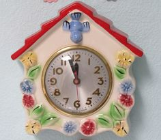 Love my clock, even though right now it is in my craft room!