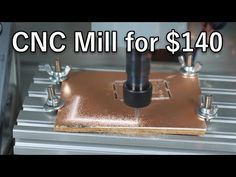 PCB Milling was on my TODO list. So I thought I'll give the cheapest CNC mill a try that isn't made from card board. Machine Tools, Cnc Machine, Metal Milling Machine, Homemade Machine, Diy Pipe, Metal Shop, Busy At Work, Wood Tools, Woodworking Workbench