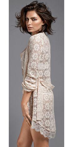 Intimissimi lace gown http://www.matrimoniodasogno.com/intimissimi-sposa-2015/
