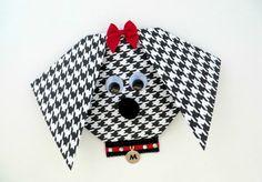 Convite para festa infantil de cachorrinho é simpático e pode ser usado em qualquer festinha com tema de animais.