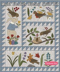 Light Bertie's Spring Quilt Kit ReservationMaywood Studio | Fat Quarter Shop