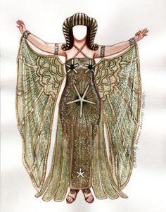 THEDA BARA as Cleopatra Costume