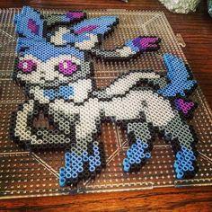 700 Sylveon Pokemon perler beads by Rachel's Dreamland