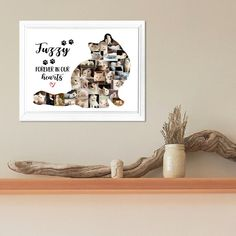 Cat Photo Collage-Cat Memorial Collage-Fluffy Cat Collage-Pet | Etsy Long Haired Cats, Photo Collages, Cat Memorial, Online Printing Services, Fluffy Cat, All Pictures, Create Yourself, Printables, Colours