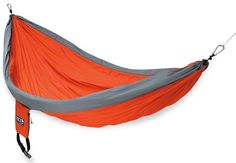 Another great site for outdoorsy items! REI.com (free shipping)     Shown is the ENO DoubleNest Hammock