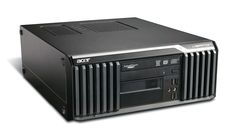 ACER SQR PC Veriton S670G SD, E8400, 4GB, 160GB HDD, DVD-RW, Βαμμένο Ανακατασκευασμένοι σταθεροί