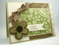 October 03, 2011  Stampin' Up! Triple Treat Thanks