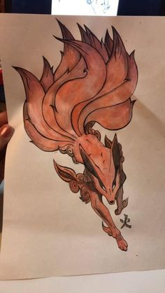 japanese with tattoos Naruto Drawings, Naruto Art, Anime Naruto, Naruto Tattoo, Fox Tattoo Design, Fuchs Tattoo, Japanese Fox, Fox Drawing, Japanese Tattoo Art