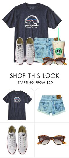 """""""Would totally wear this"""" by flroasburn ❤ liked on Polyvore featuring Patagonia, Converse and H&M"""