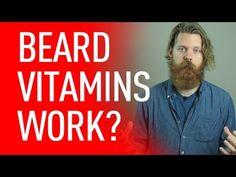 Do beard vitamins work? Grow A Thicker Beard, Thick Beard, Beard Growth, Beard Care, Ways Of Seeing, The Cure, Vitamins, Health Fitness, Wisdom