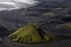 Green Pyramid - Mt Maelifell, Iceland
