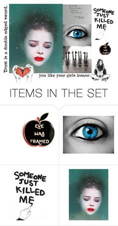 """""""Face"""" by americanreject ❤ liked on Polyvore featuring art"""