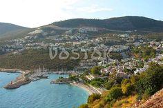Marina and beach in Kalkan http://www.traveltofethiye.co.uk/explore/attractions/kalkan-resort/