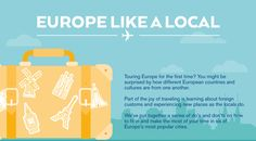 Infographic: How To Travel In Europe Like A Local
