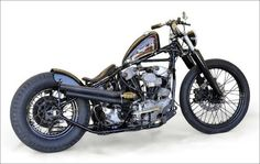 Knucklehead | Bobber Inspiration - Bobbers and Custom Motorcycles | theroadyeah December 2014