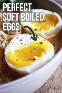How To: The Perfect Soft Boiled Egg cooking ideas for preschoolers cooking ideas for toddlers egg recipes ideas recipes ideas recipes ideas families recipes ideas healthy recipes ideas sides recipes ideas simple easter recipes ideas Boiled Egg Nutrition, Boiled Egg Diet Plan, Perfect Boiled Egg, Soft Boiled Eggs, Runny Eggs, Egg Recipes, Cooking Recipes, Gourmet, Eggs