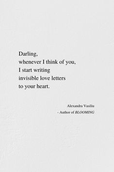 Love Letters To You | Alexandra Vasiliu