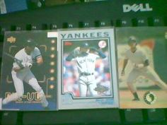 LOT OF 3 DEREK JETER CARDS MINT CONDITION