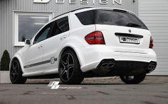 Mercedes Benz M-Class [W164] Aerodynamic-Kit PRIOR-DESIGN /