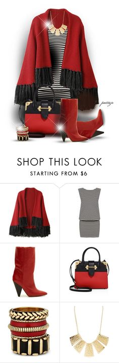 """""""Wrap that Dress!"""" by rockreborn on Polyvore featuring Alice + Olivia, Isabel Marant, Prada, Red Herring and Charlotte Russe"""