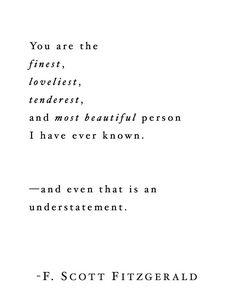 F. Scott Fitzgerald~