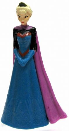 Rare Disney Frozen Elsa Figurine in Coronation Gown >>> Check this awesome image  : Home Decor Collectible Figurines
