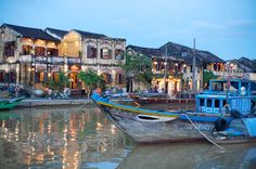 The canals of Hoi An