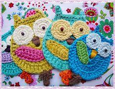 Ravelry: Las Evas Owl Crochet Pattern pattern by Maria Manuel