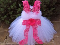 Hey, I found this really awesome Etsy listing at https://www.etsy.com/listing/198770489/tutu-dress-lacy-pink-white-bit-of-fluff