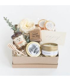 Award-winning curated gift boxes by Marigold & Grey. Our ready-to-ship luxury gift boxes and pre-curated gift sets include free U. Gift Hampers, Gift Baskets, Shower Hostess Gifts, Wedding Welcome Gifts, Gift Box Design, Curated Gift Boxes, Gourmet Gifts, Client Gifts, Spa Gifts