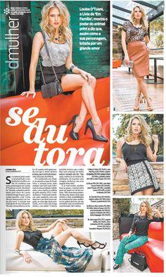 Jornal O dia com Louise D'Tuane