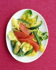 Watercress, Pink Grapefruit, and Walnut Salad   Recipe   Walnut Salad ...
