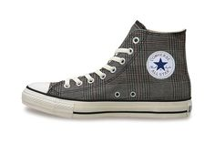 Converse Japan Chuck Taylor All Star Glen-Check Hi  I'm a Chucks fan! This should've been released last month when I was in Japan!