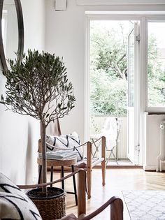 This Swedish Home Is the Perfect Small-Space Inspo via @MyDomaine
