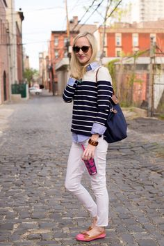 School Days: Stripes, Totes and Comfy Boat Shoes