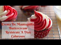 Crema de mantequilla resistente a días calurosos - QUIEROCAKES