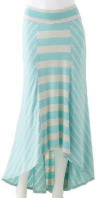 #Kohls                    #Skirt                    #Studio #Striped #Hi-Low #Maxi #Skirt               AB Studio Striped Hi-Low Maxi Skirt                                           http://www.seapai.com/product.aspx?PID=43714