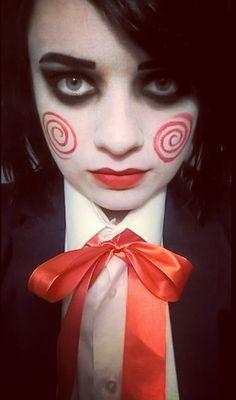 #saw #inspiration #makeup #inyourprettyface #Halloween
