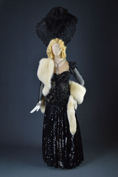 Mae West, Las Vegas Act, Circa 1950's, Designed by Edith Head, The Collection of Motion Picture Costume Design: Larry McQueen